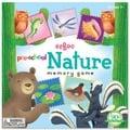 美國eeBoo 童趣插畫*學齡前配對記憶遊戲 Pre-School NATURE 大自然 (大尺寸餅乾造型卡)