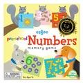 美國eeBoo 童趣插畫*學齡前配對記憶遊戲 Pre-School Numbers 數字 (大尺寸餅乾造型卡)