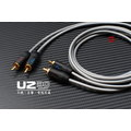 人聲強化『U2嚴選線材客製』MPS X-7 RCA*2 轉 RCA*2 擴大機訊號線 DAC 發燒線 音效卡 SE-90