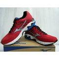 新莊新太陽 MIZUNO 美津濃 J1GC154407 WAVE INSPIRE 11 暢銷 支撐型 男 慢跑鞋 紅銀 特2750