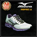 【Mizuno美津濃】【全方位運動戶外館】女款慢跑鞋 WAVE INSPIRE 11 寬楦支撐型-粉紫白 (J1GD154468)