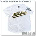 【ANGEL NEW ERA】MLB Majestic Oakland Athletics 奧克蘭運動家 6460703-026 LOGO 棒球衣