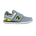 New Balance 紐巴倫 多功能- 嬰兒鞋 童鞋 -淺灰X黃 KG574S7I