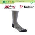 《綠野山房》Fox River 美國製 UR FIT 男款 中統 山徑羊毛 健行襪 排汗 快乾 灰 2456-07094