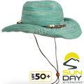 Sunday Afternoons 抗UV透氣牛仔帽 Sunset遮陽帽/登山防曬帽/健行休閒大盤帽 S2C26270C-510藍色淡白石