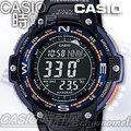CASIO 時計屋 卡西歐手錶 SGW-100-2B 方位 溫度 運動男錶 全新 保固 開發票