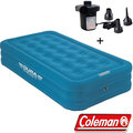 Coleman Durarest Twin加厚氣墊床+打氣機 電動幫浦/露營充氣睡墊 享受戶外歡樂時光CM-21936+17662