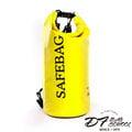 DF BAGSCHOOL - 超輕便防水圓筒10L款2用式後背包-檸檬黃