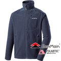 EasyMain 衣力美 男 90%防風保暖外套 Polartec Wind Pro戶外機能外套/透氣夾克爬山健行防風保暖上衣 CE14099-73鐵灰色