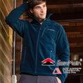 EasyMain 衣力美 男 90%防風保暖外套 Polartec Wind Pro戶外機能外套/透氣夾克爬山健行防風保暖上衣 CE14099-78深灰藍