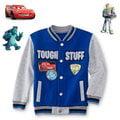 美國DISNEY不敗主角CARS麥坤、怪獸大學毛怪、玩具總動員巴斯款刷毛棒球外套(95、100cm適用)官網同步