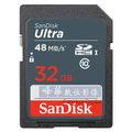 【48MB/s,320X】 Sandisk Ultra 32GB SDHC Class 10 記憶卡 (公司貨7年保固,SDSDUNB-032G) sdxc sd