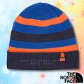 【美國 The North Face】新款 兒童雙面保暖帽.羊毛帽.保暖針織帽.保暖舒適 A6X6 宇宙藍