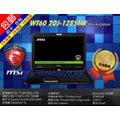 『高雄程傑電腦』MSI 微星WT60-2OJ-1285TWCore i7-4810MQ∥K2100M 獨顯2G 工程繪圖行動工作站筆電