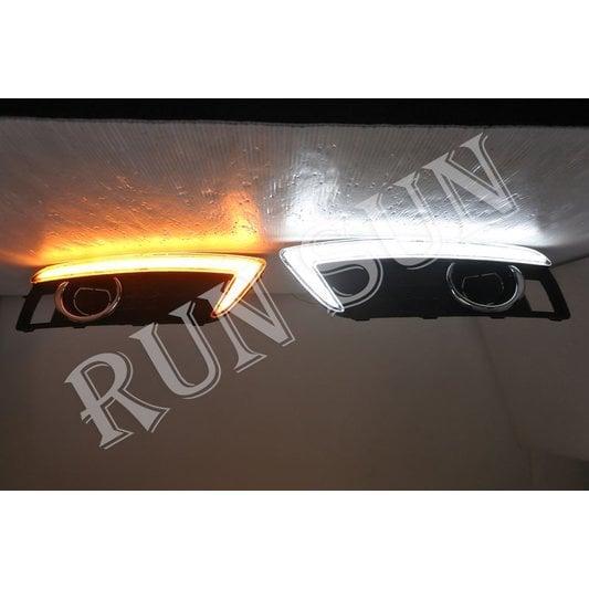 ●○RUN SUN 車燈,車材○● 全新 TOYOTA 豐田 COROLLA 卡羅拉 ALTIS, PREMIO,VIOS 威馳 LED 日行燈 霧燈