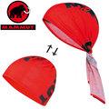 Mammut 長毛象 彈性快乾透氣頭巾 Zermatt超彈性口罩/運動圍巾/單車領巾1090-04590-3271紅色