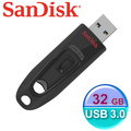 SanDisk 新帝 Cruzer Ultra CZ48【最高讀取100MB / USB3.0】32G 隨身碟