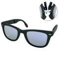 【文雄眼鏡】Ray Ban太陽眼鏡 熱賣折疊款(消光黑-水銀紫#RB-4105-601S4K)★全館免運費★