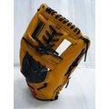 新莊新太陽 ZETT 5100 系列 BPGT-5115 A級 硬式 牛皮 棒壘手套 內野手 工字 黃黑 特2500