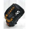 新莊新太陽 ZETT 5100 系列 BPGT-5127 A級 硬式 牛皮 棒壘手套 外野手 T字 黑黃 特2500