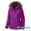 Columbia 哥倫比亞 女 兩件式防風防水保暖外套 (專利自體熱能科技) 桃紅 WL1075
