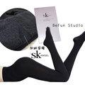 【 BeFun 內著專科 】 SK絲襪 8198 奧戴爾刷毛保暖襪 全長 刷毛褲襪 高腰收腹不勒肚