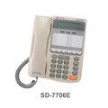 TECOM 東訊 SD-7706E (6鍵顯示型功能話機)*替代SD-7506D