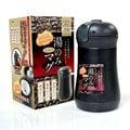 日本風♥【日本Pearl】和風彈蓋式保溫杯300ml(質感黑)/採用304不鏽鋼/無毒好健康/媲美 三光 鍋寶 妙管家 斑馬 象印 膳魔師