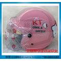 《福利社》華泰 KK 856 K-856 019 KT HELLO KITTY 凱蒂貓 無嘴貓 (粉紅色) 兒童專用 小童 輕量 附抗UV安全鏡片 半罩式 四分之三 安全帽