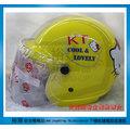 《福利社》華泰 KK 856 K-856 019 KT HELLO KITTY 凱蒂貓 無嘴貓 (黃色) 兒童專用 小童 輕量 附抗UV安全鏡片 半罩式 四分之三 安全帽