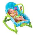 《Fisher-Price》費雪可攜式兩用安撫振動搖椅兒童躺椅-嬰兒床遊戲床