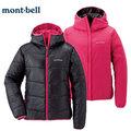 丹大戶外用品 日本【mont-bell】THERMAWRAP 女款雙面人化纖保暖纖維外套 超輕量/耐潮 1101410 GM-RO 暗灰/桃紅