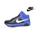 NIKE AIR VISI PRO VI 749167-009 男性籃球鞋 訓練鞋 氣墊 黑/藍 ☆男☆免運費☆