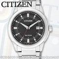 CASIO 手錶專賣店 國隆 CITIZEN星辰 BM7141-51E 男錶 光動能 不鏽鋼錶帶 黑 藍寶石玻璃錶鏡 防水 日期