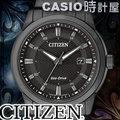 CASIO 時計屋 CITIZEN 星辰 手錶專賣店 BM7145-51E 男錶 全黑 藍寶石玻璃錶鏡 不鏽鋼 光動能