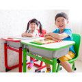 WASHAMl-(SGS國家認證)WSH日式快樂兒童升降學習桌椅/兒童桌椅/遊戲桌/寫字桌(共三色)