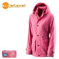丹大戶外【Wildland】荒野 女款 絲絨防潑水防風保暖外套 0A22911-32 深粉紅