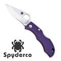【詮國】Spyderco 蜘蛛 - Ladybug III 小瓢蟲3代紫柄折刀 / VG-10鋼 - LPRP3