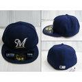 新莊新太陽 MLB 美國職棒 大聯盟 NEW ERA 5711346-009 密爾瓦基 釀酒人隊 選手 球員帽 特1200