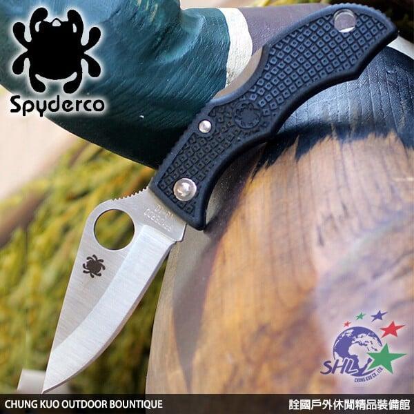 【詮國】Spyderco 蜘蛛 - Ladybug III 小瓢蟲3代平刃折刀 / VG-10不鏽鋼 - LBKP3