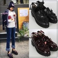 韓國妹【epg0036】正韓貨Page101進口正品. 韓國製漂亮厚底馬丁鞋. 2色230~250預購