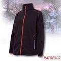 【瑞多仕-RATOPS】女款 DINTEX 抗風防水透氣夾克.輕量保暖外套/ 質輕保暖.舒適透氣.易清洗 / DH6136 正黑色