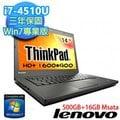 『人言水告』Lenovo ThinkPad T440 20B6A04FTW 14吋 i7-4510U筆電《預計交期4天》