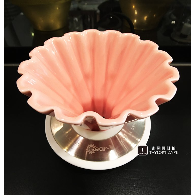 【JUNIOR】Gear-V 圓錐齒輪陶瓷濾杯 / 濾器 1~2人份 (咖啡 / 白 / 黑)