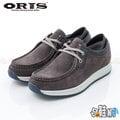 【哈鞋網】 ORIS 男款 紳士風格百搭款式 麂皮材質 舒適好穿 休閒鞋 SB15930B10 灰色