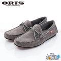【哈鞋網】ORIS 男款 紳士風格 經典百搭素面 麂皮材質 休閒鞋 SB15947B10 灰色