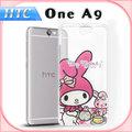 HTC ONE A9 (午茶時間) 三麗鷗授權正版 My Melody 美樂蒂 透明軟式保護套 手機殼