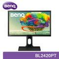 BenQ 明基 BL2420PT 24型 QHD專業顯示器 / IPS面板 / 23.8吋 / 低藍光 / 不閃屏