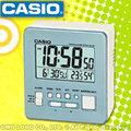 CASIO卡西歐 手錶專賣店 國隆DQ-981-2D_7D 數位電子型鬧鐘 貪睡 溫、濕度顯示 四色