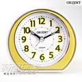 ORIENT 東方錶 連續秒針 簡約雙色 電子音 數字鬧鈴 鬧鐘 貪睡AQ-346黃